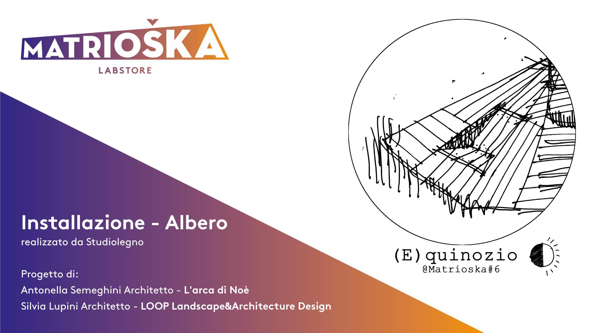 Matrioska #6 - Installazione Albero