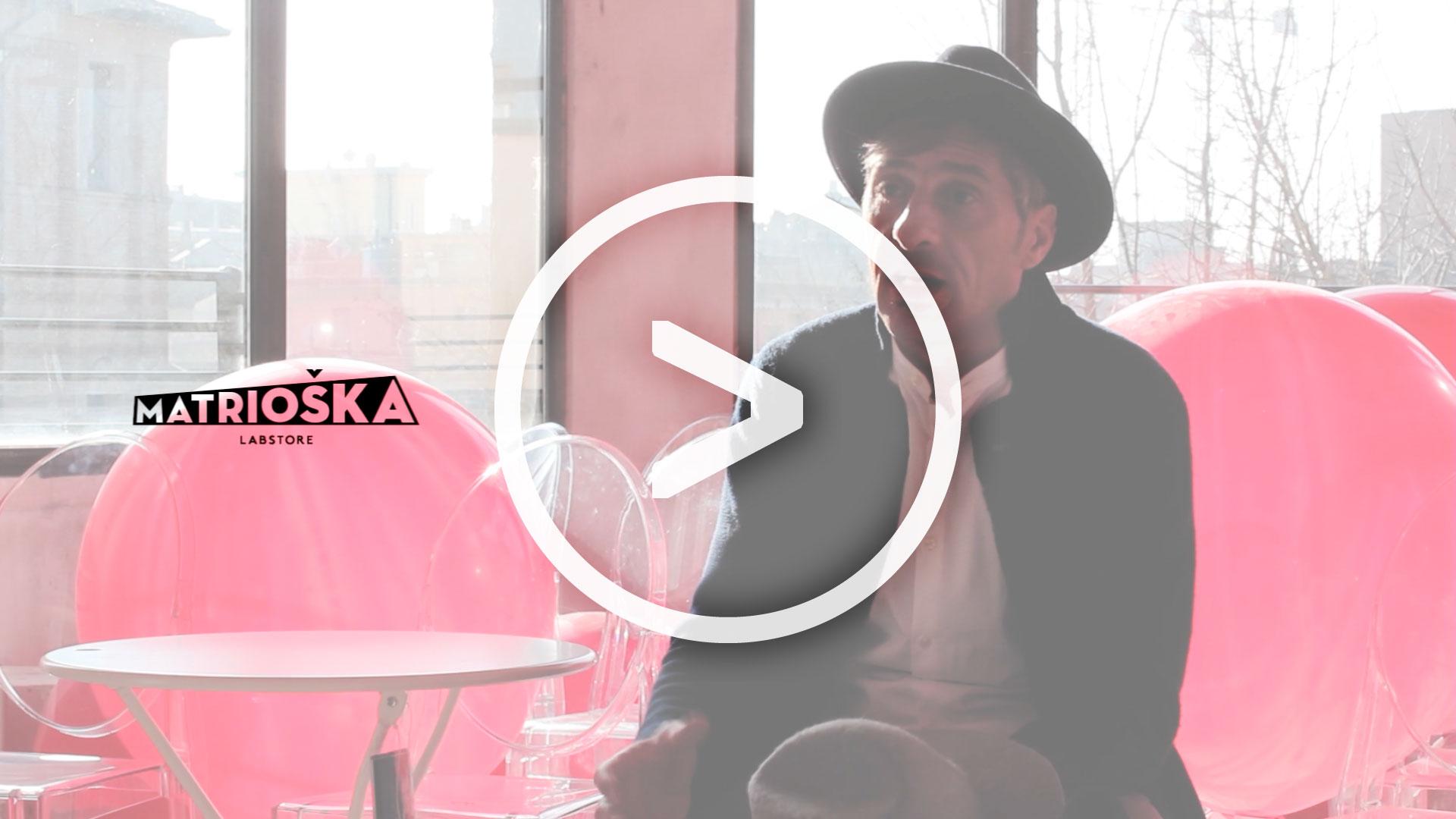 Dalla sedie alla passione per la cappelleria / Akam Bulgari si racconta a Matrioška