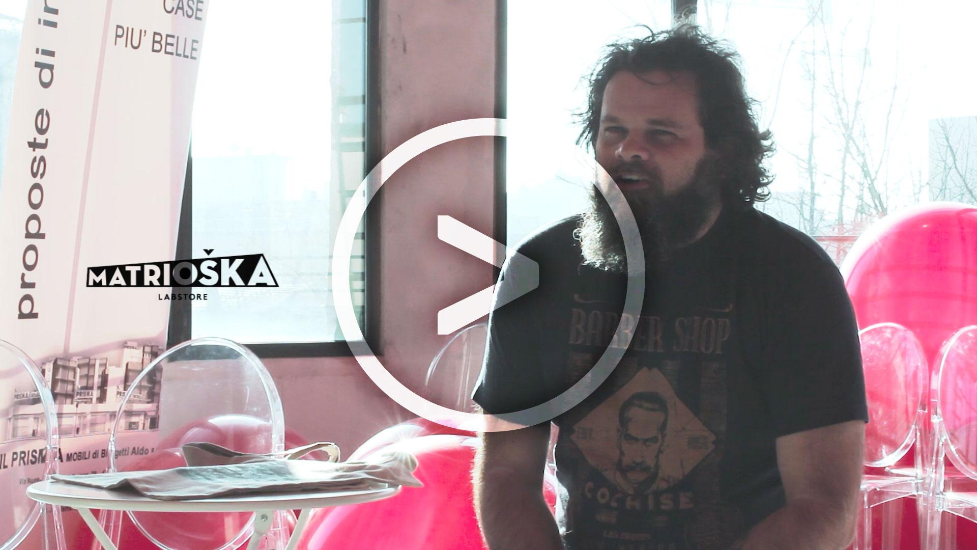Le shopper stampate a mano di L.Y. / Carlo Lovison si racconta a Matrioška