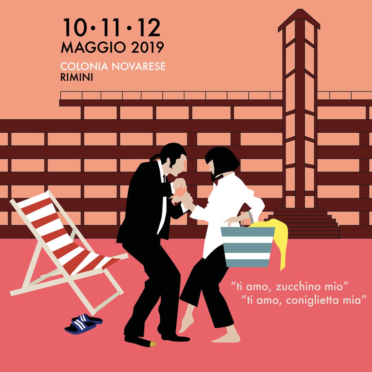 Matrioska Labstore #15 / Rimini / Colonia Novarese / 10-11-12 maggio 2019 / Mia e Vincent