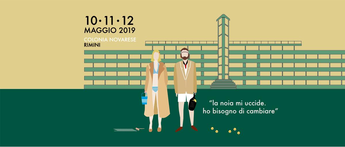 Matrioska Labstore #15 / Rimini / Colonia Novarese / 10-11-12 maggio 2019 / Richie e Margot