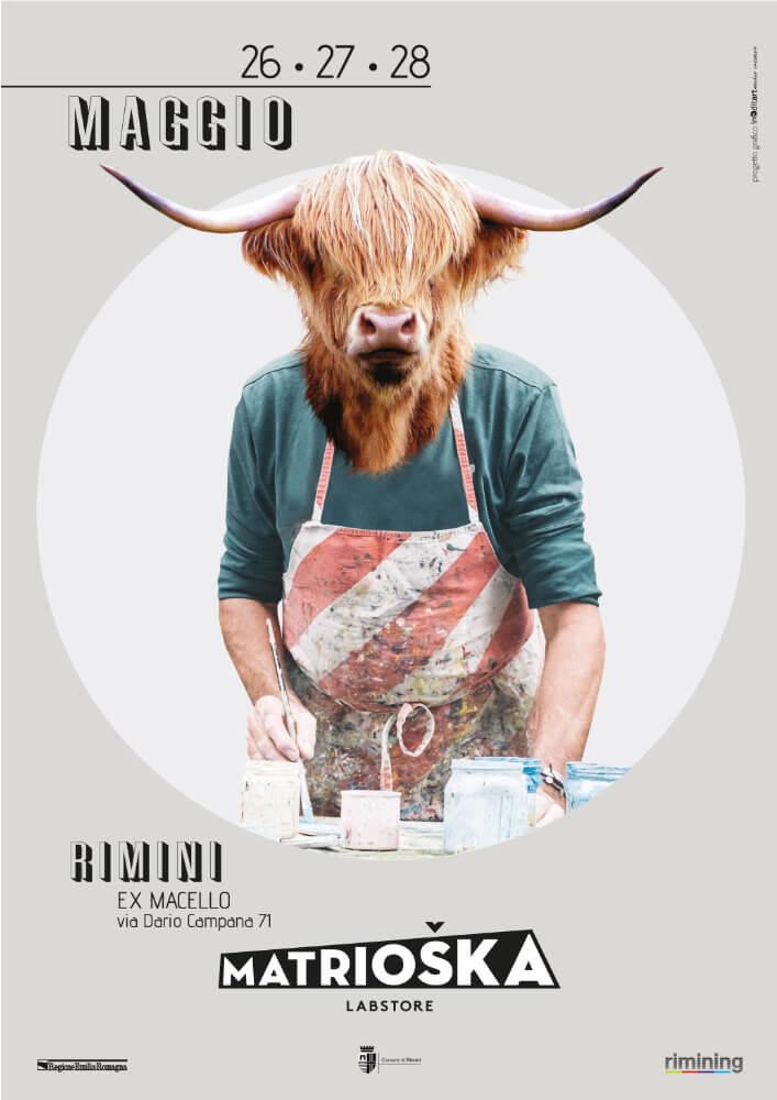 Matrioska Labstore Rimini - edizione #11 - maggio 2017 / locandina