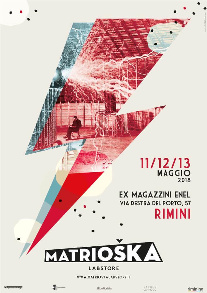 Matrioska Labstore Rimini - edizione #13 - maggio 2018 / locandina