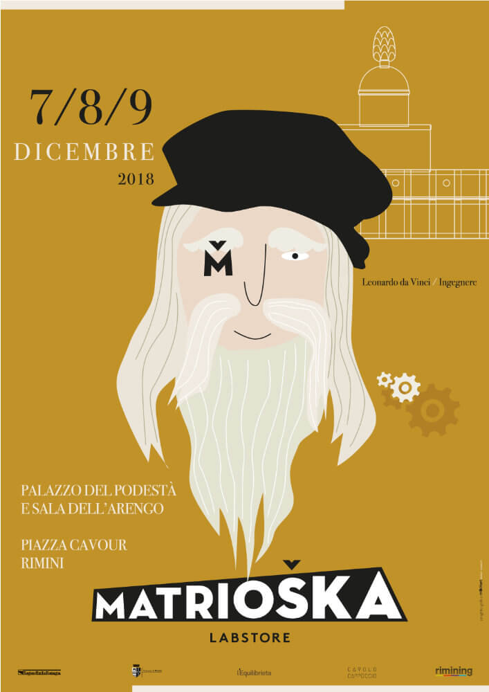 Matrioska Labstore Rimini - edizione #14 - dicembre 2018 / locandina