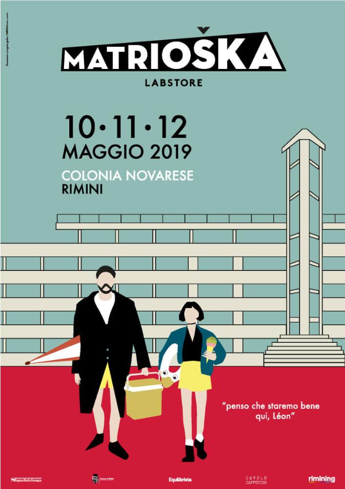 Matrioska Labstore Rimini - edizione #15 - maggio 2019 / locandina