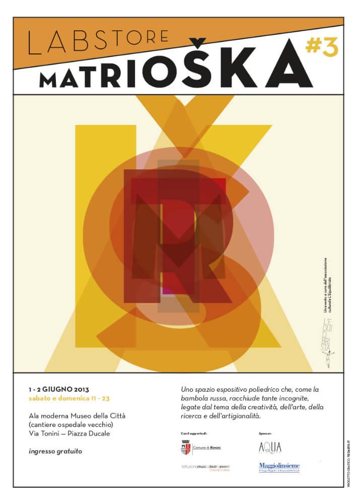 Matrioska Labstore Rimini - edizione #3 - giugno 2013 / locandina