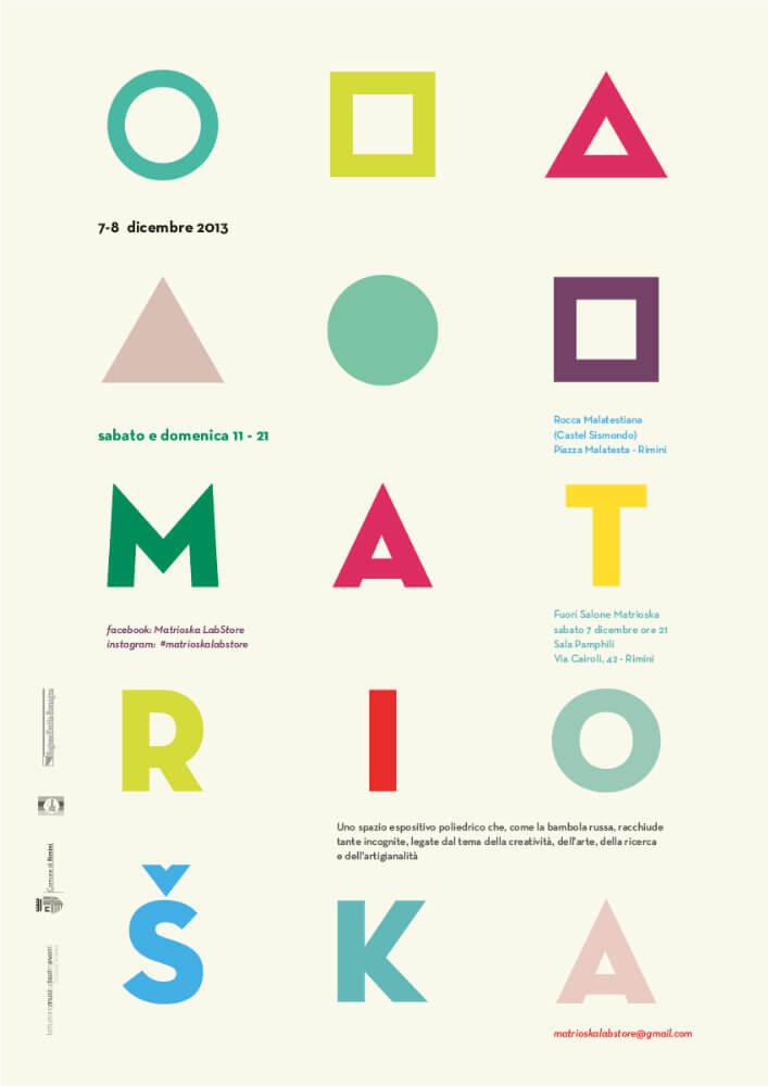 Matrioska Labstore Rimini - edizione #4 - dicembre 2013 / locandina