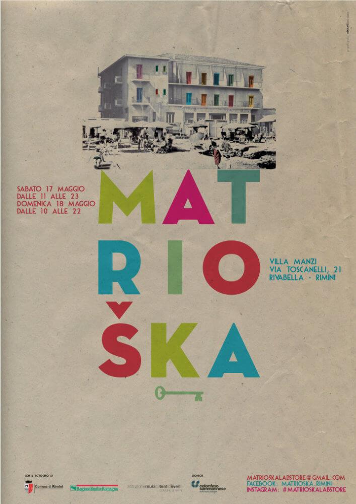 Matrioska Labstore Rimini - edizione #5 - maggio 2014 / locandina