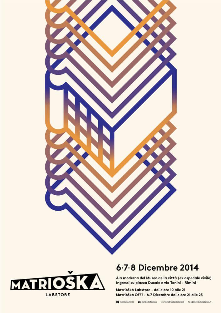 Matrioska Labstore Rimini - edizione #6 - dicembre 2014 / locandina
