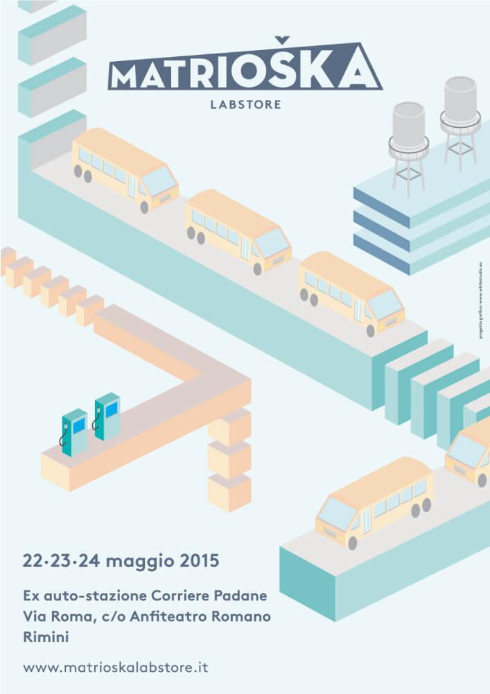 Matrioska Labstore Rimini - edizione #7 - maggio 2015 / locandina