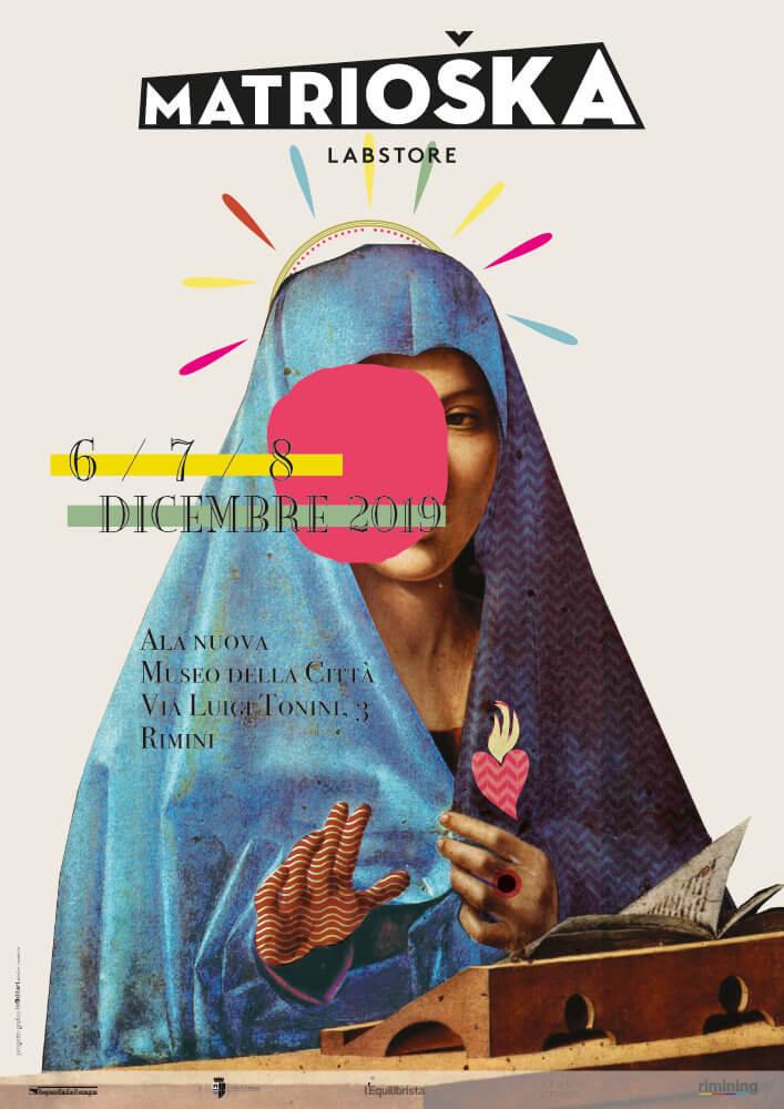 Matrioska Labstore Rimini - edizione #16- dicembre 2019 / locandina