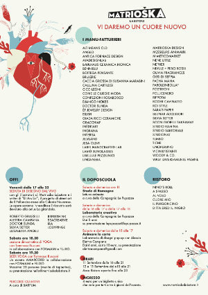 Programma / Matrioska Labstore #17 / Rimini 11-12-13 settembre 2020